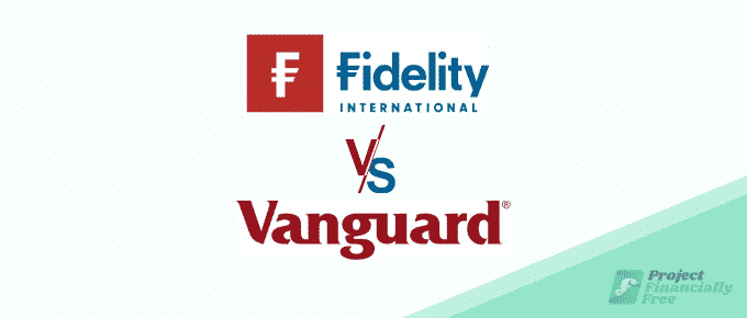fidelity vs vanguard logo text